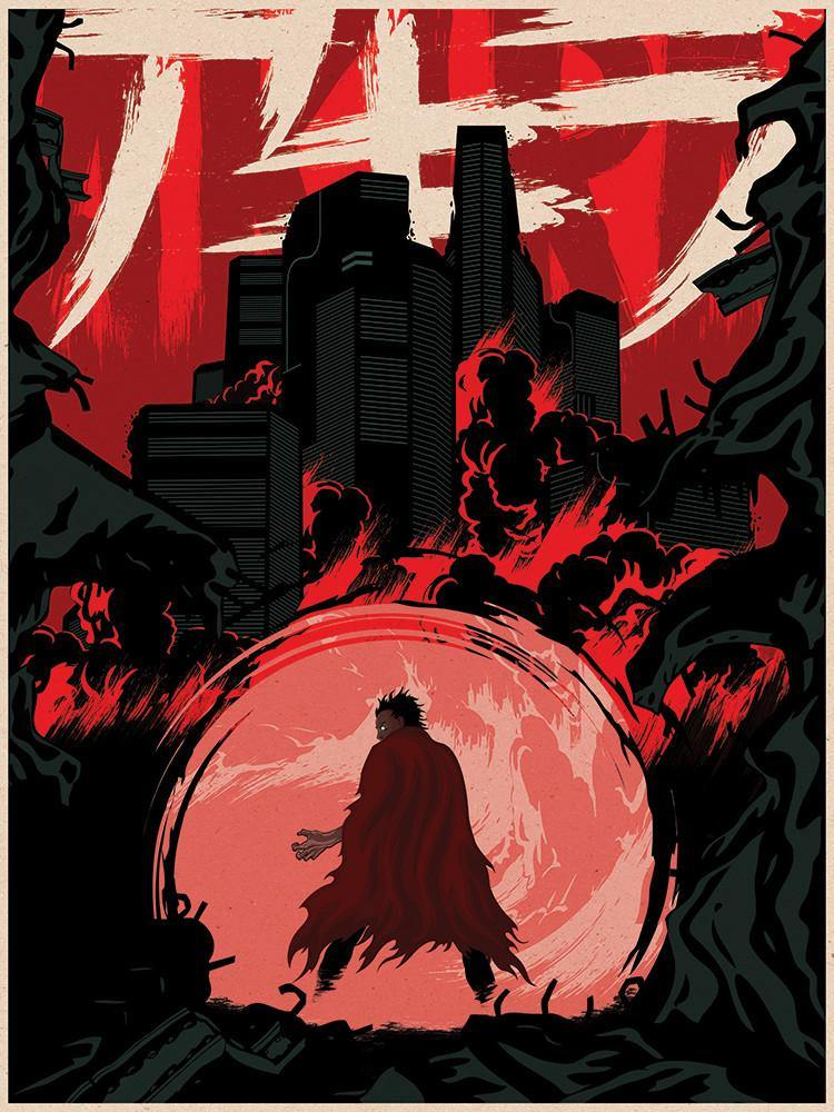 """Akira"" Red Variant by Matt Griffin - Hero Complex Gallery"