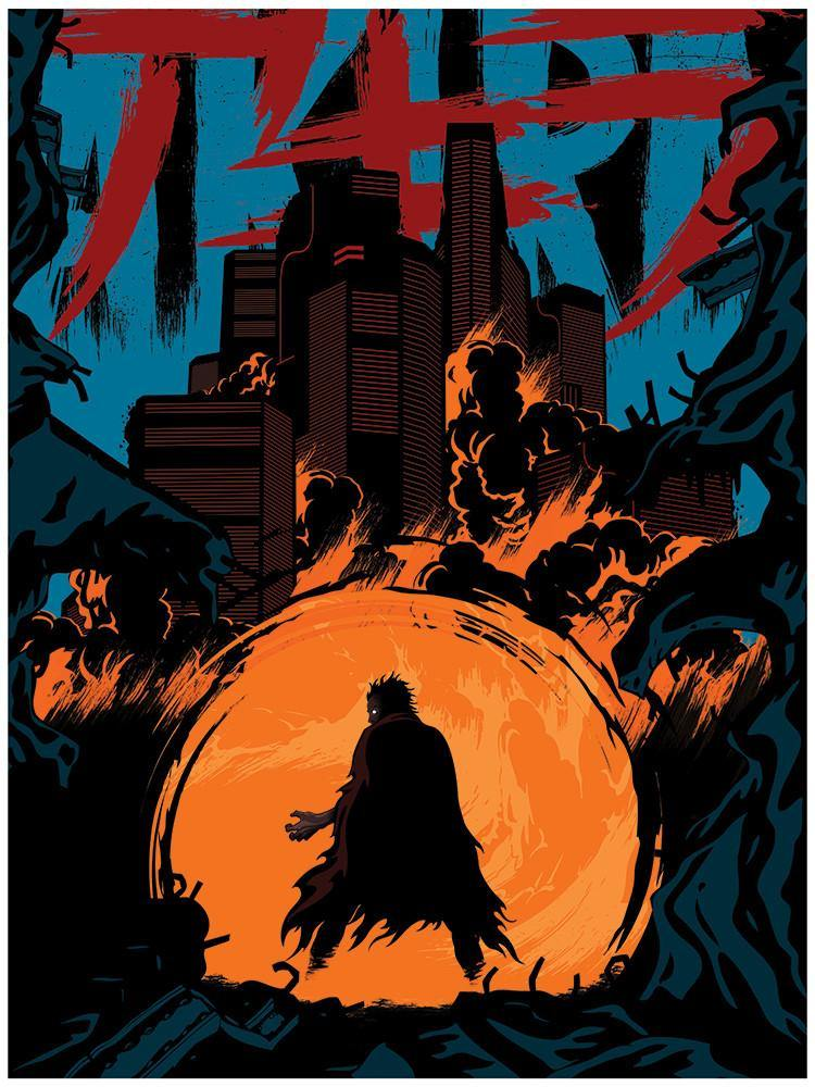 """Akira"" Blue Variant by Matt Griffin - Hero Complex Gallery"