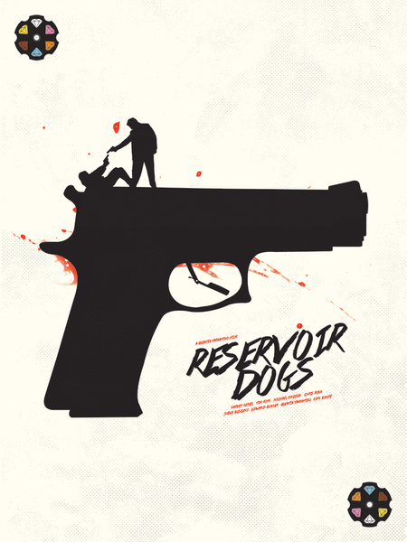 "6 of Diamonds: ""Reservoir Dogs"" by Matt Needle - Hero Complex Gallery"