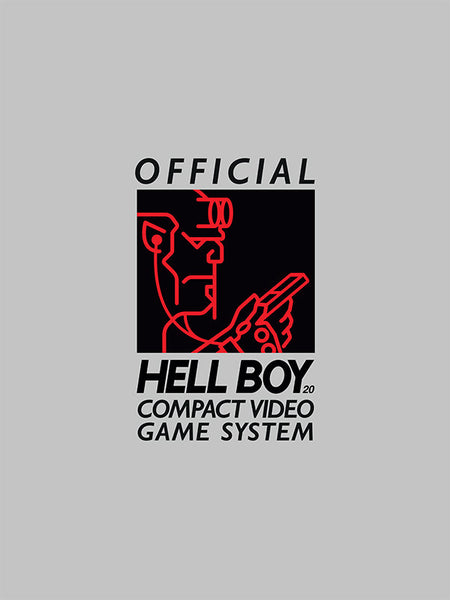 """Hellboy Compact Video Game System (R)"" White by Matthew Kenyon - Hero Complex Gallery"