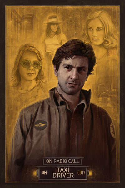 """Taxi Driver"" by Matthew Rabalais - Hero Complex Gallery"