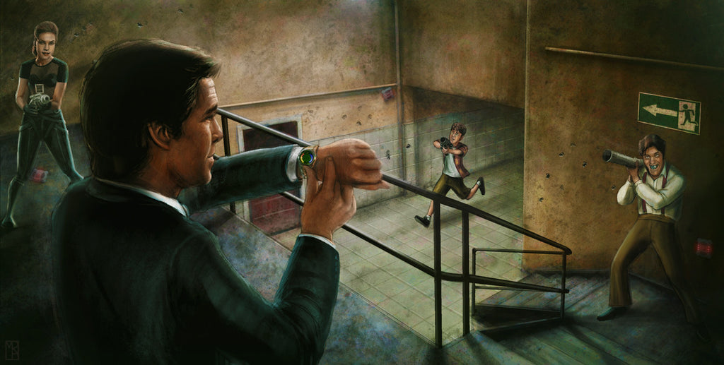 """Goldeneye"" by Matthew Rabalais - Hero Complex Gallery"