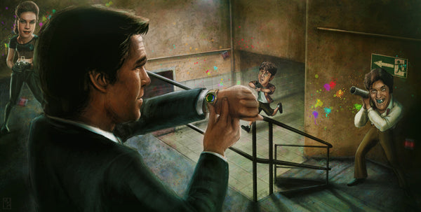 """Goldeneye"" Variant by Matthew Rabalais - Hero Complex Gallery"