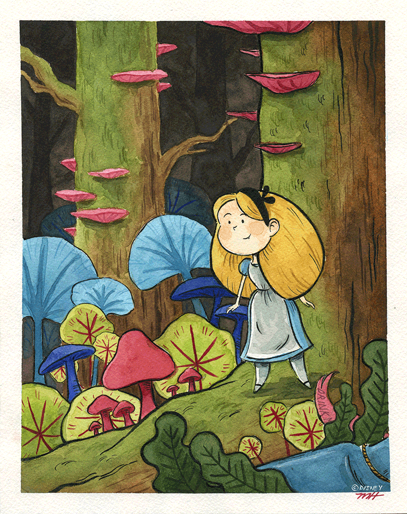"""Small Adventures"" Original by Michelle Hiraishi - Hero Complex Gallery"