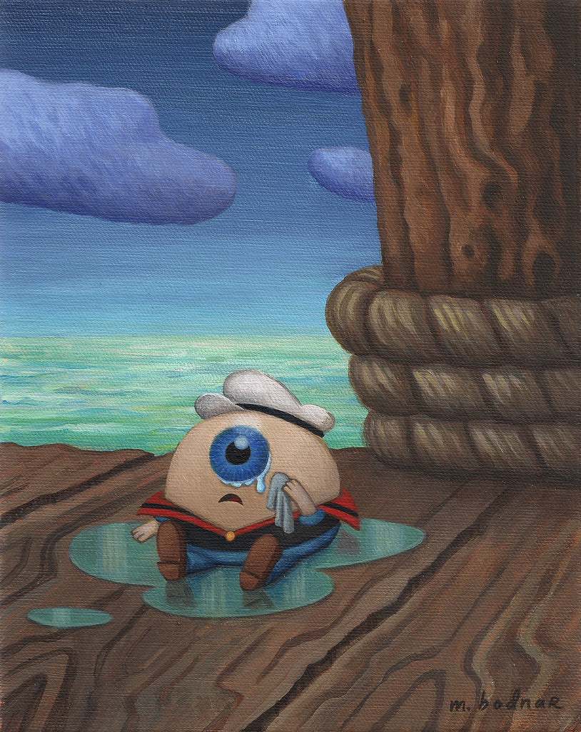 """Popeye's Missing Eye"" by Mark Bodnar - Hero Complex Gallery  - 1"
