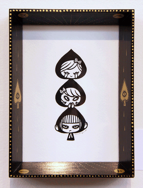 3 of Spades by Mizna Wada - Hero Complex Gallery