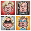 """Jessica Lange x 4"" Set by Jordan Monsell - Hero Complex Gallery  - 1"