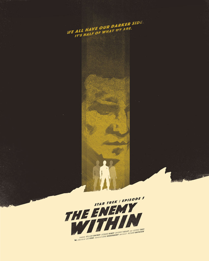 """The Enemy Within: Star Trek S1 E5"" by Moscati"