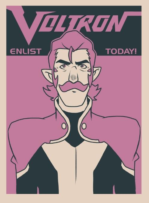 """Enlist Today! – Coran"" by Nathan J. Anderson - Hero Complex Gallery"
