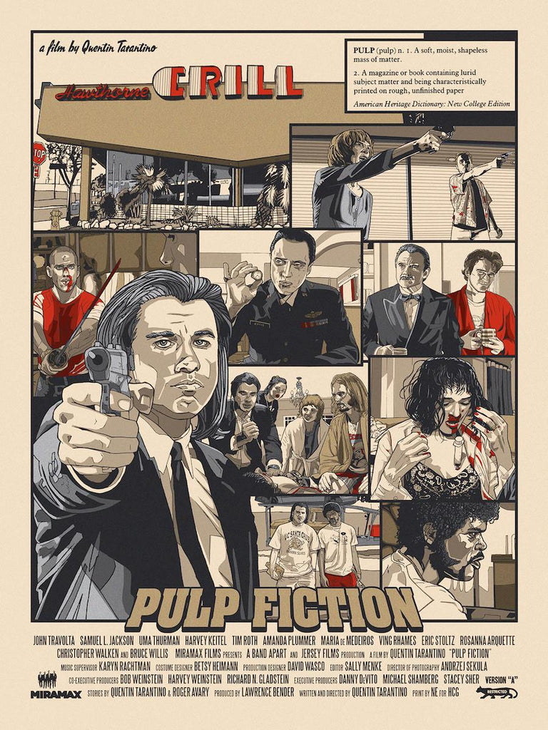 """Pulp Fiction"" Version A by New Flesh - Hero Complex Gallery"