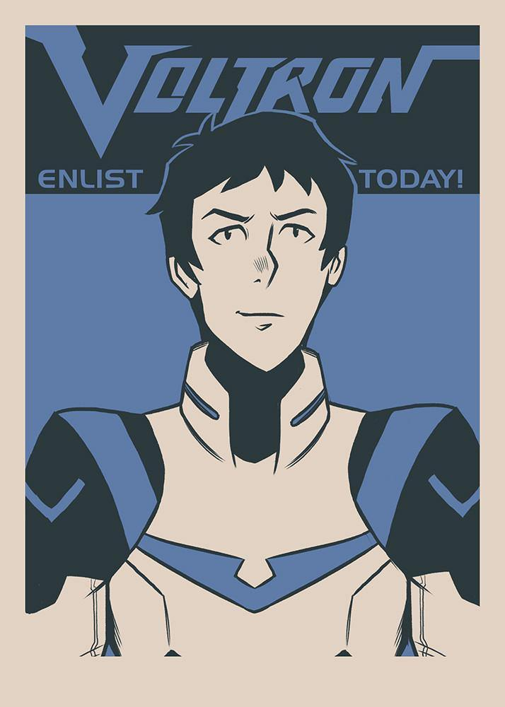 """Enlist Today! – Lance Charles McClain"" by Nathan J. Anderson - Hero Complex Gallery  - 1"