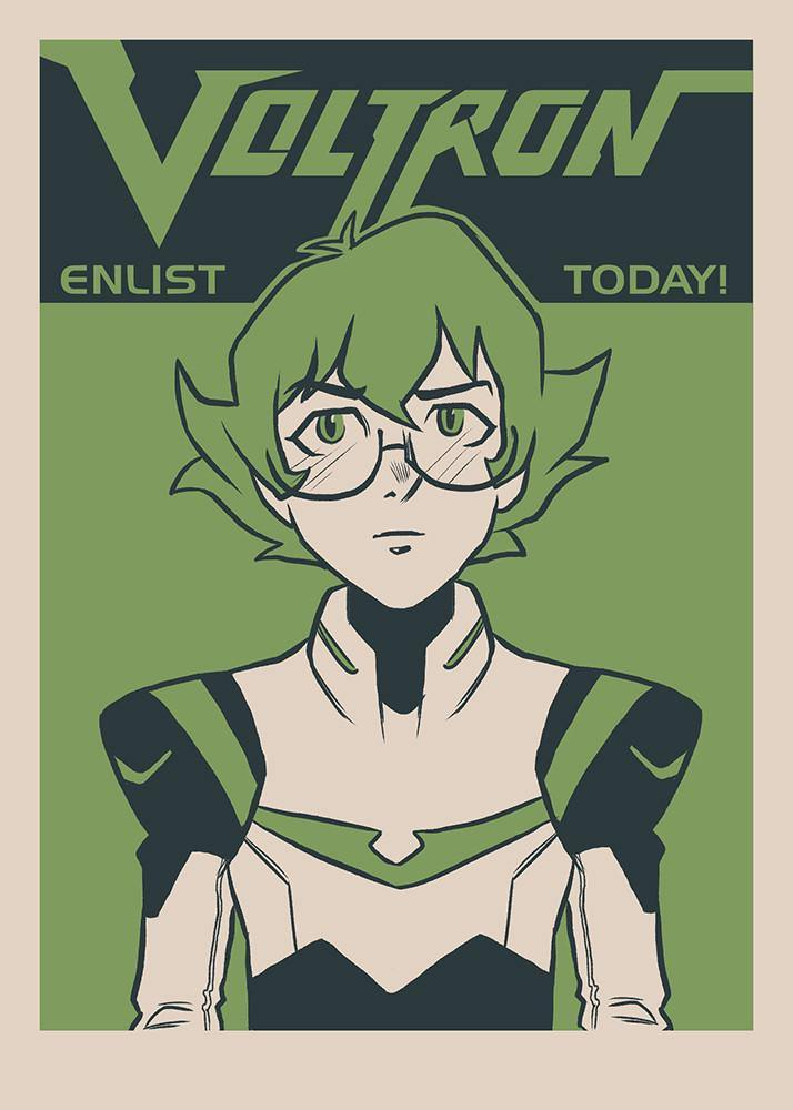 """Enlist Today! – Darrell 'Pidge' Stoker"" by Nathan J. Anderson - Hero Complex Gallery"
