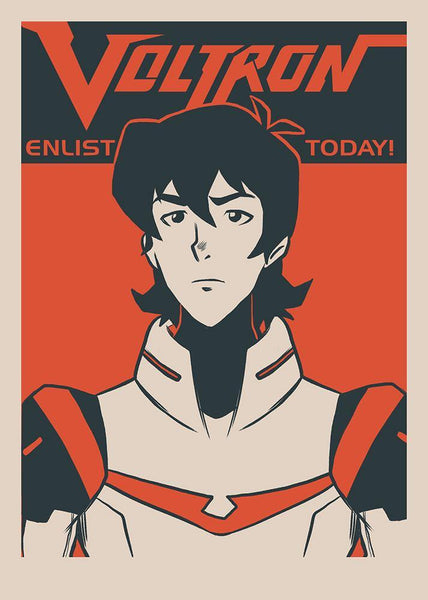 """Enlist Today! – Commander Keith Kogane"" by Nathan J. Anderson - Hero Complex Gallery"