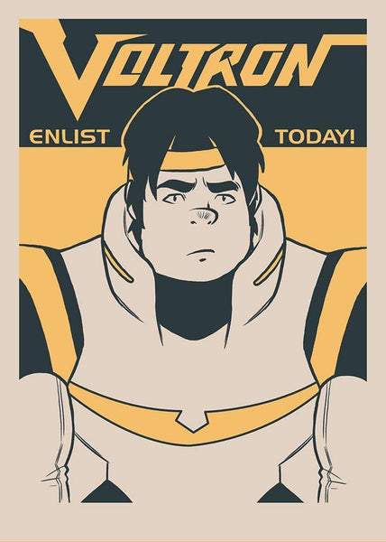 """Enlist Today! – Tsuyoshi ""Hunk"" Garrett"" by Nathan J. Anderson - Hero Complex Gallery"