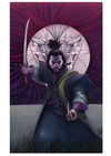 """Oni no Kao"" by Nelson Cordeiro $40.00 - Hero Complex Gallery"