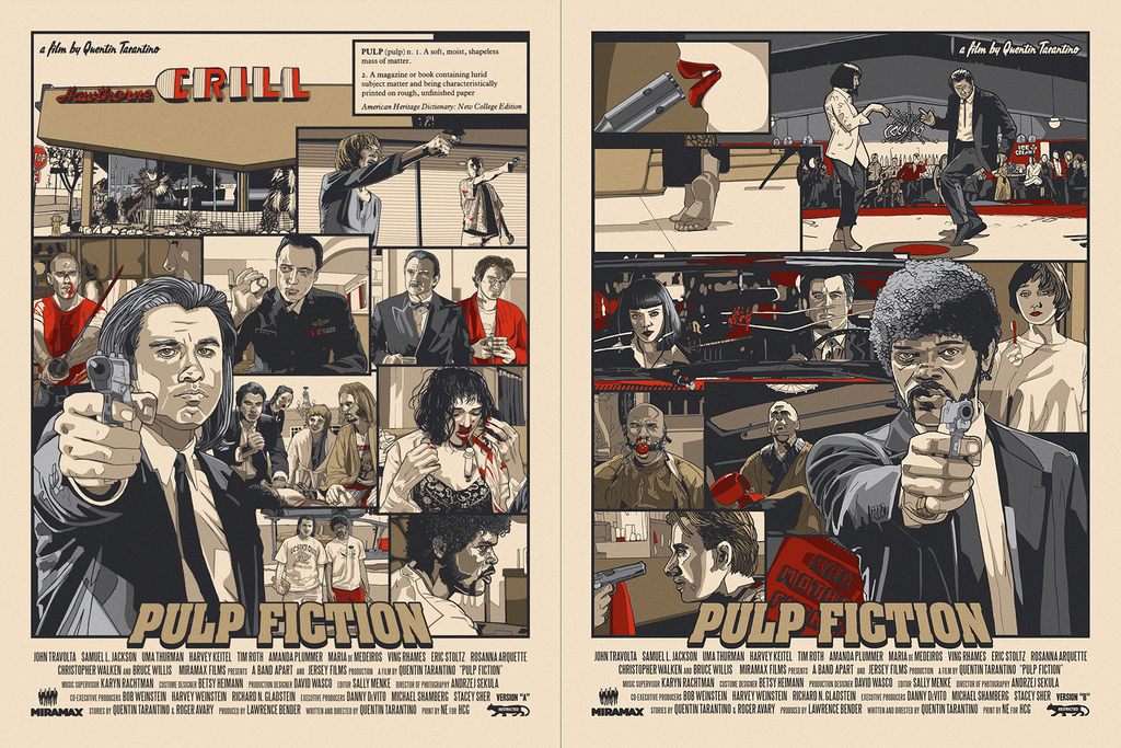 """Pulp Fiction"" Set by New Flesh - Hero Complex Gallery"