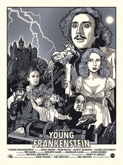 """Young Frankenstein"" 1/1 by New Flesh"