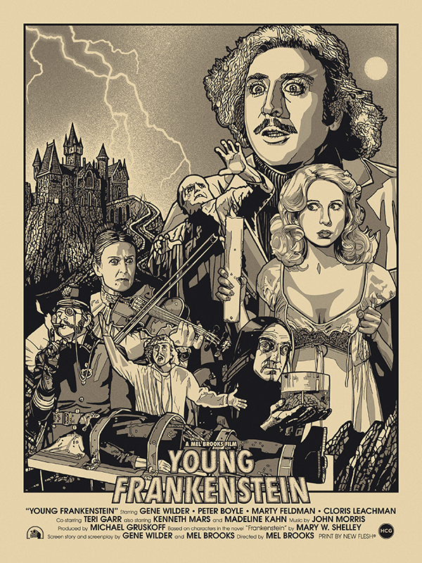 """Young Frankenstein"" Variant by New Flesh"
