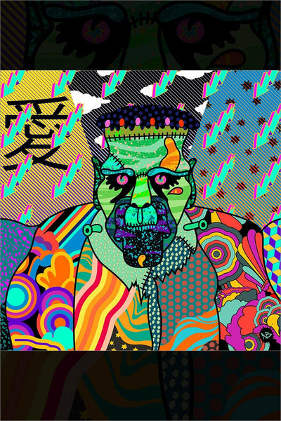 """Yellow Sub Frank Psychedelic"" by Beery Method"