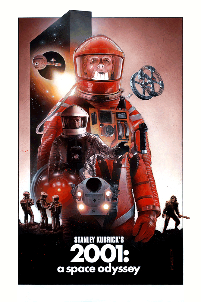 "First Contact: ""2001: A Space Odyssey"" by Nick Runge"