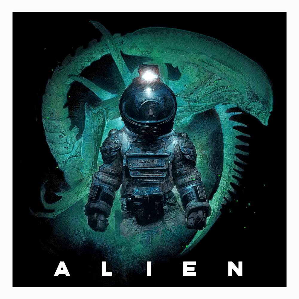 "First Contact: ""ALIEN 1979"" by Nick Runge - Hero Complex Gallery"