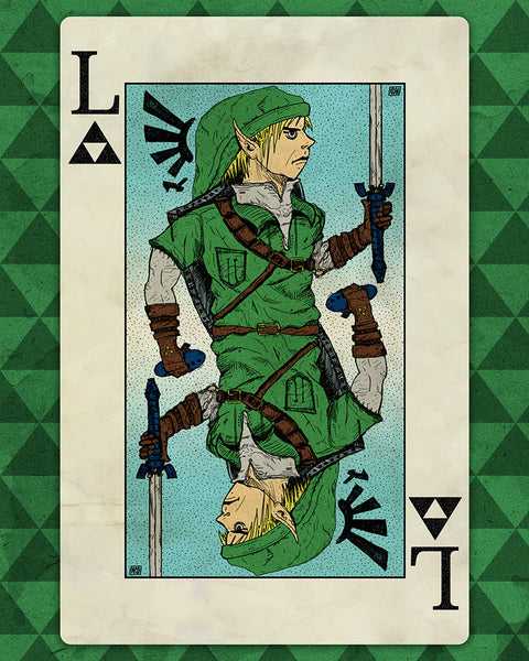 """Lucky Link"" by Nick Smith - Hero Complex Gallery"