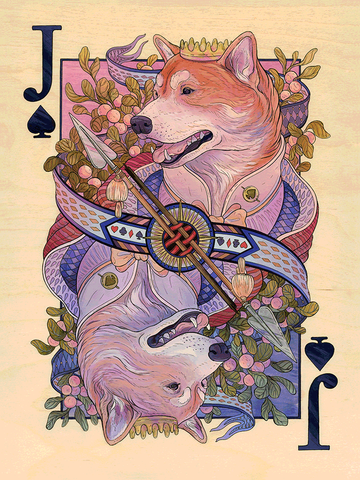 Jack of Spades by Nicole Gustafsson - Hero Complex Gallery
