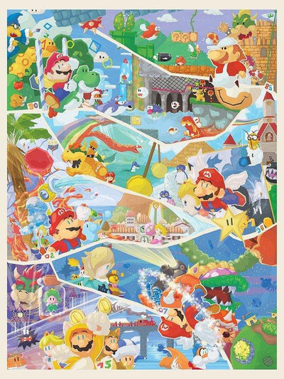 """30 Years of Mario"" by Orioto - Hero Complex Gallery"
