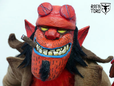 """Puppet of Doom"" by Rafa Toro $1,000.00 - SOLD OUT - Hero Complex Gallery  - 1"
