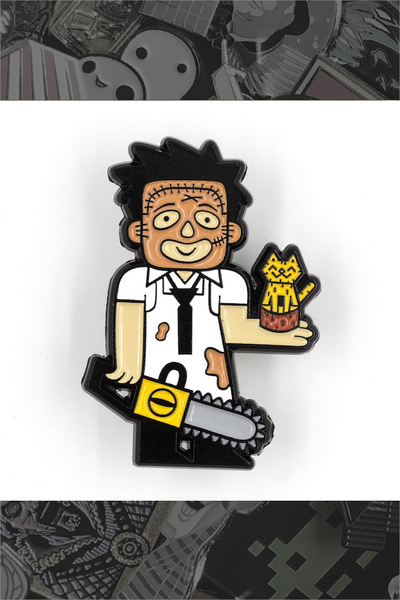 "642. ""Leatherface"" by Little Shop of Pins"
