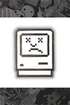 """Sad Macintosh"" by Little Shop of Pins"