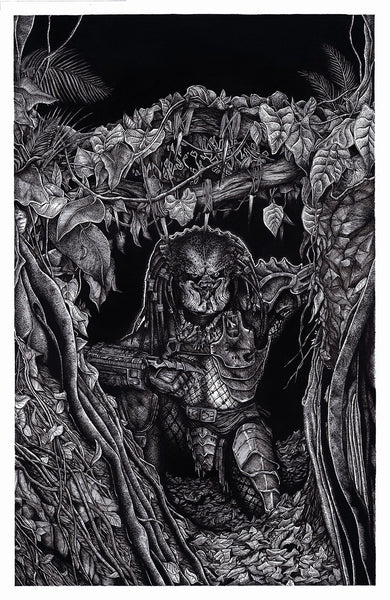 "A Tribute to Stan Winston: ""Predator"" Original by Liam Atkin - Hero Complex Gallery  - 1"