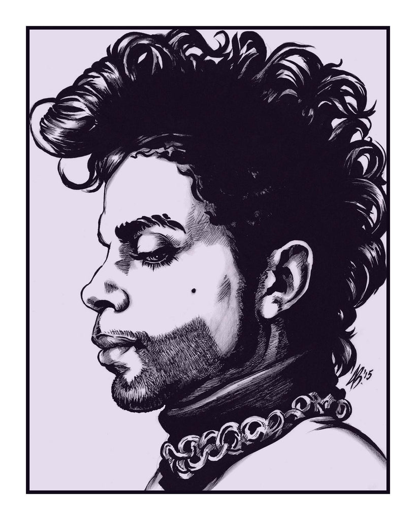 """Thunder Drowns Out What The Lightning Sees (Prince, One)"" Variant by Jason Brown - Hero Complex Gallery"
