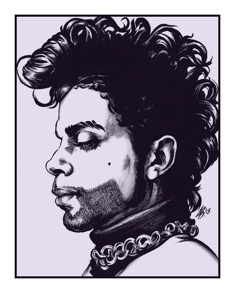 """Thunder Drowns Out What The Lightning Sees (Prince, One)"" by Jason Brown - Hero Complex Gallery"