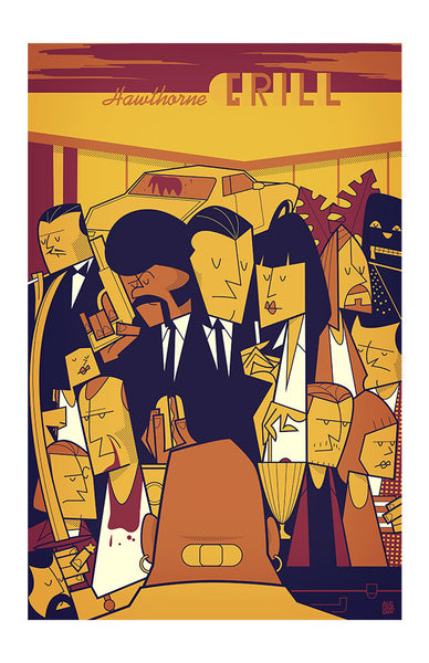 "Greetings from Los Angeles: ""Royal with Cheese"" by Ale Giorgini - Hero Complex Gallery"