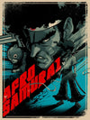 """Afro Samurai"" Blue Variant by Paul Ainsworth (PAIDesign) - Hero Complex Gallery"
