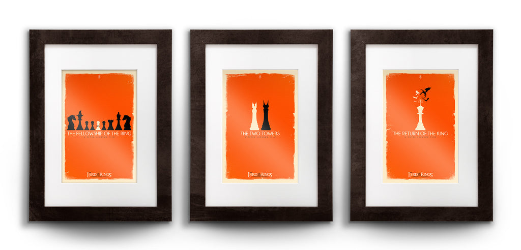 """Checkmate"" Triptych Set by Patrick Connan - Hero Complex Gallery  - 1"