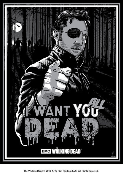"""The Governor Wants You ALL Dead!"" by Paul Ainsworth - Hero Complex Gallery"