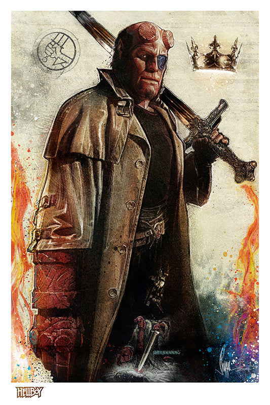 """Hellboy"" by Paul Shipper - Hero Complex Gallery"