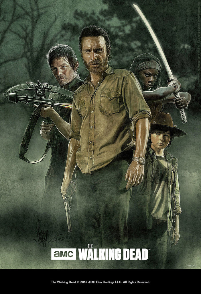 """Walking Dead POV"" by Paul Shipper - Hero Complex Gallery"