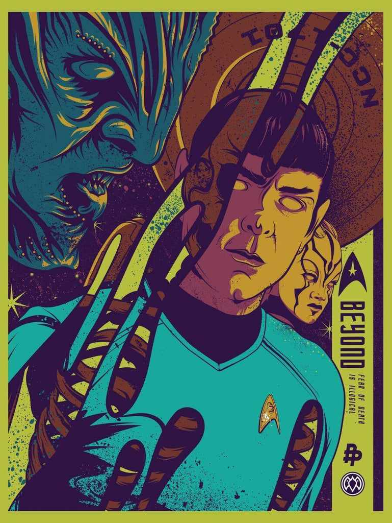 """Fear of Death is Illogical"" by Payback Penguin - Hero Complex Gallery"