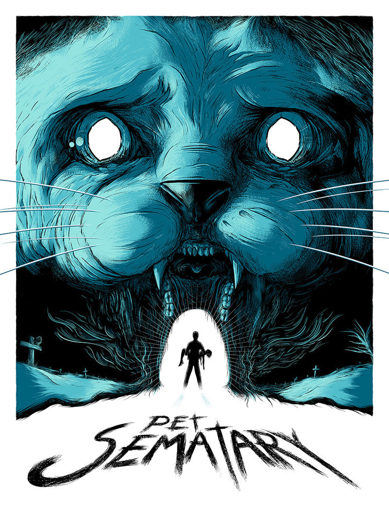 """Pet Sematary"" Turquoise Variant by Matthew Johnson - Hero Complex Gallery"