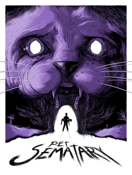 """Pet Sematary"" Purple by Matthew Johnson - Hero Complex Gallery"