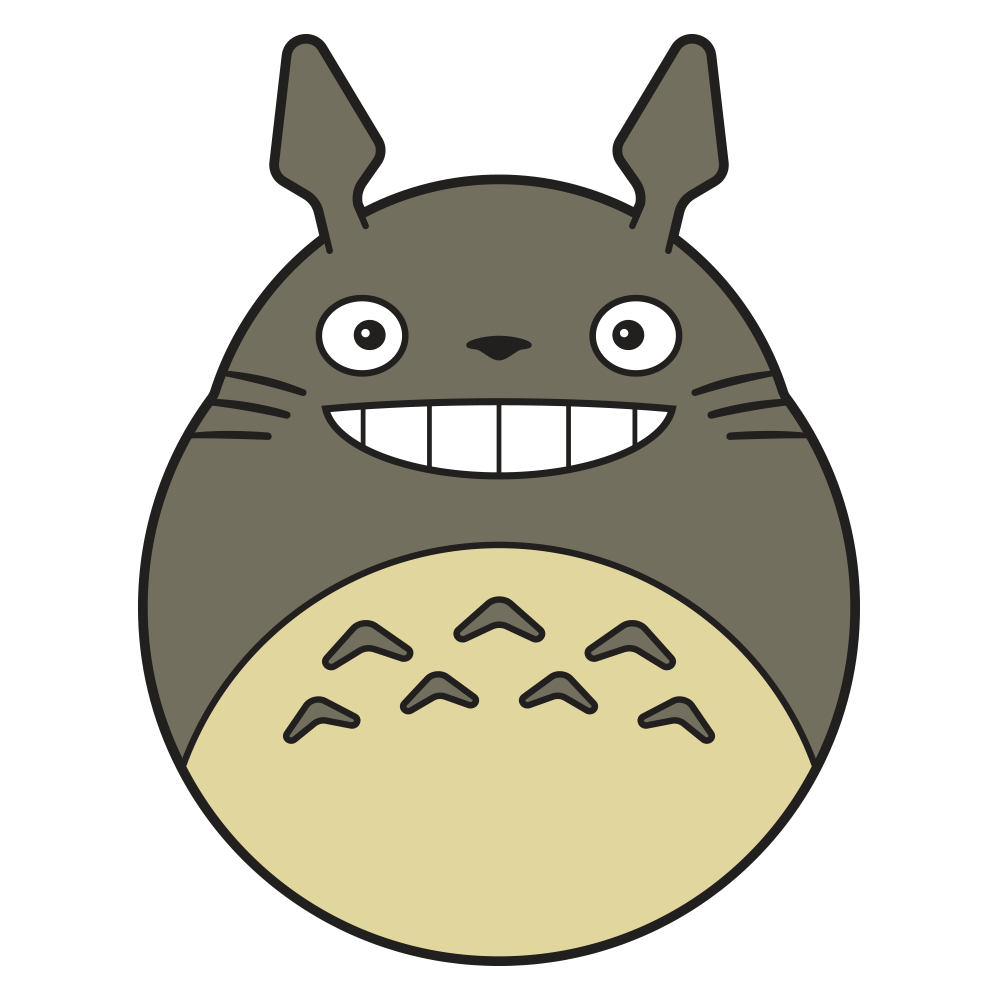"""Totoro"" Pin by Timcab - Hero Complex Gallery  - 2"