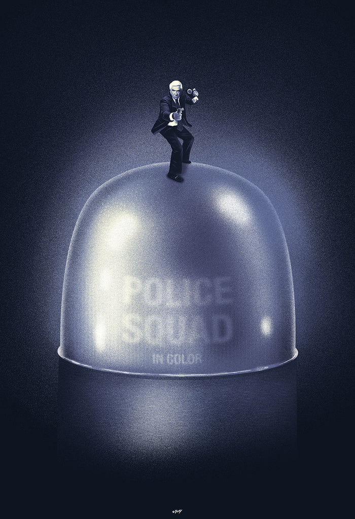 """Police Squad"" by Doaly $40.00 - Hero Complex Gallery"