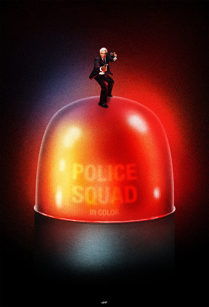 """Police Squad in Color"" by Doaly $40.00 - Hero Complex Gallery"
