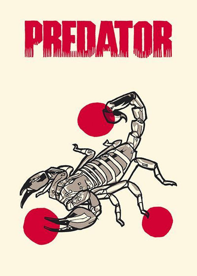 """PREDATOR"" (Ages 4 and Up Series 7) Handbill Set by New Flesh"
