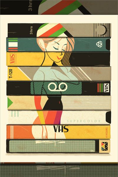 """VHS"" by Glen Brogan"