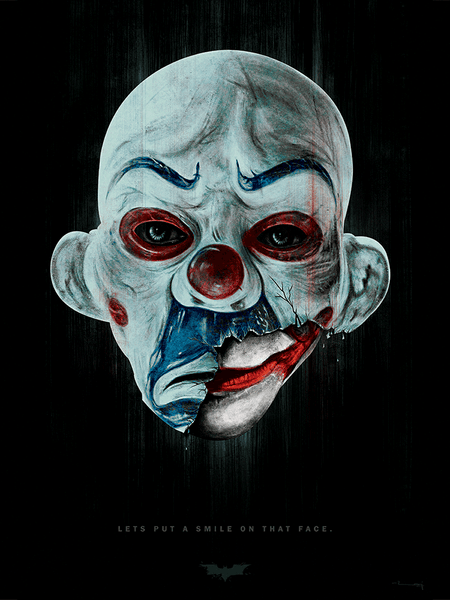"""The Manic Behind the Mask"" by raj khatri - Hero Complex Gallery"