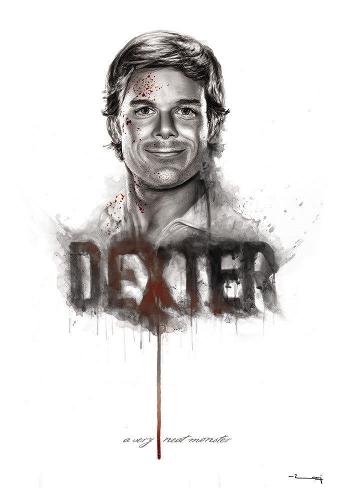 """DEXTER: A NEAT MONSTER"" by Raj Khatri - Hero Complex Gallery"